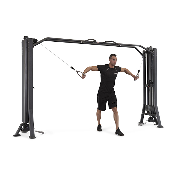 Panatta Fit Evo 4 Station Multi-Gym + Cable Station with Bar 1FE116