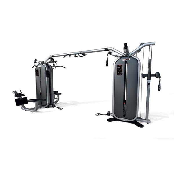 Panatta Monolith Jungle Machine + Joint Bar + 4 Station Multi Gym 1MTH115+1MTH119+1MTH112