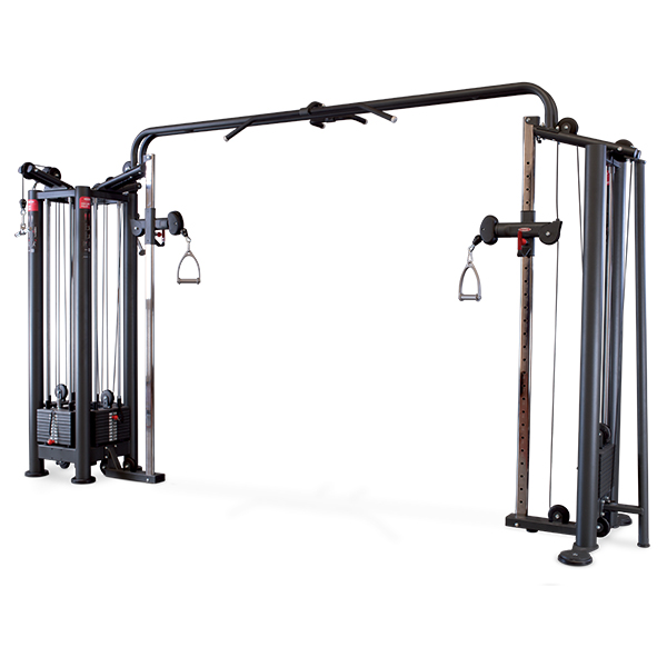 Panatta SEC 4 Station Multi Gym + Adjustable Cable Station with Bar 1SC112 + 1SC124