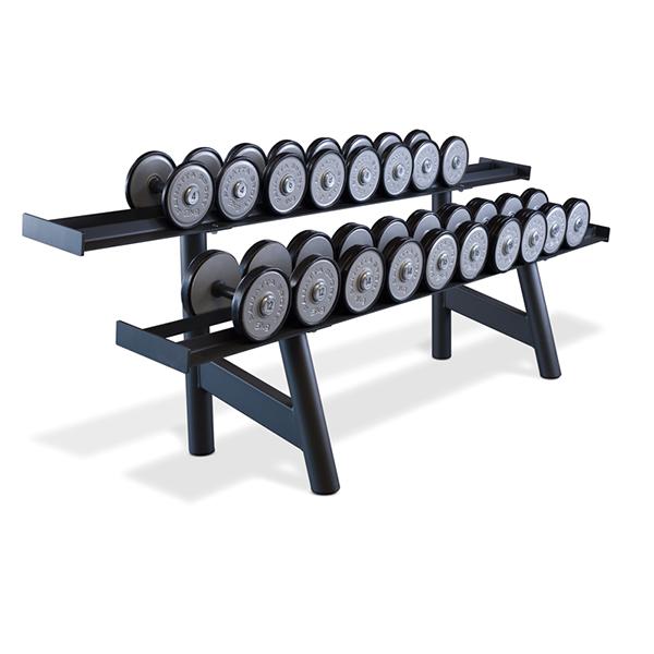 Panatta SEC Dumbbell Rack Long 1SC248